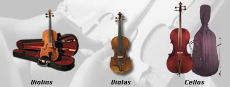Discount Strings Bows Cases Violin Viola And Cello